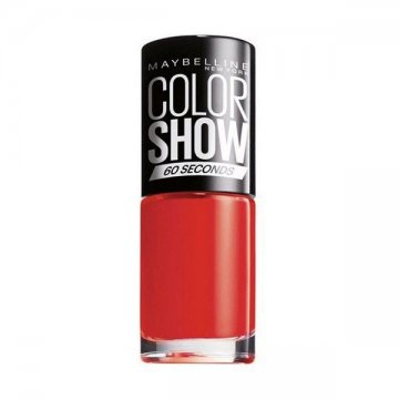 lak na nehty Color Show Maybelline - 349 - power red
