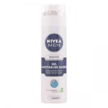 Shaving Gel Men Sensitive Nivea - 200 ml