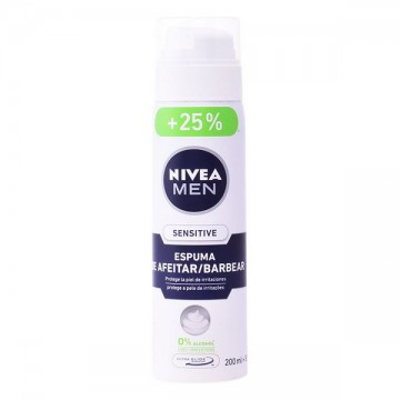 Shaving Foam Men Sensitive Nivea - 250 ml