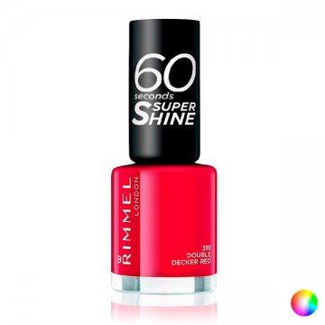 lak na nehty 60 Seconds Super Shine Rimmel London - 312-be red