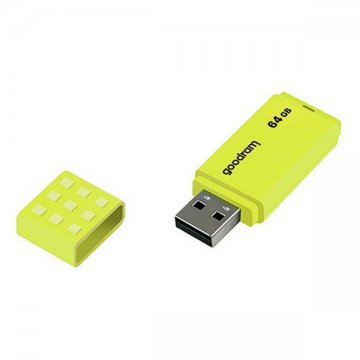 Flash disk GoodRam UME2 USB 2.0 20 Mb/s - Žlutý, 128 GB